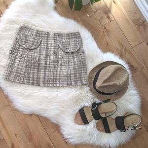 MARC JACOBS - Wool Tweed Mini Skirt